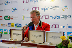 Lansink Jos (BEL) - Spender S<br /> Winner of the Grand Prix Longines de la Ville de La Baule<br /> CSIO La Baule 2009<br /> Photo © Dirk Caremans
