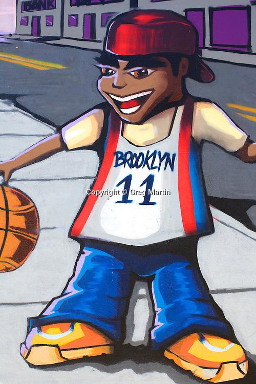 Graffiti in Brooklyn NY