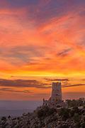 The Watchtower at Dawn, Desert View, South Rim,<br />Grand Canyon National Park, Arizona