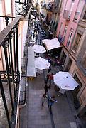 Alley in Granada, Andalusia, Spain