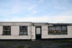 Derelict industrial units , Lowestoft, Suffolk 2018