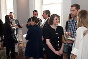 SAMARA ASTER, Pablo Bronstein, Sketches for Regency Living. Discussion and lunch. ICA. The Mall. London. 7 June 2011. <br /> <br />  , -DO NOT ARCHIVE-© Copyright Photograph by Dafydd Jones. 248 Clapham Rd. London SW9 0PZ. Tel 0207 820 0771. www.dafjones.com.