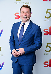 Richard Arnold attending the TRIC Awards 2019 50th Birthday Celebration held at the Grosvenor House Hotel, London.