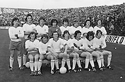 The Tyrone team before the All Ireland Minor Gaelic Football Final, Tyrone v Kerry in Croke Park on the 28th September 1975.