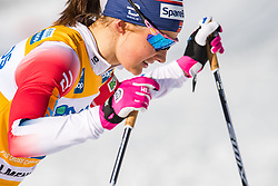 March 10, 2019 - Oslo, NORWAY - 190310 Ingvild Flugstad Østberg of Norway looks dejected after the women's 30 km classic technique mass start during the FIS World Cup on March 10, 2019 in Oslo..Photo: Jon Olav Nesvold / BILDBYRÃ…N / kod JE / 160424 (Credit Image: © Jon Olav Nesvold/Bildbyran via ZUMA Press)