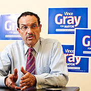 Mayoral candidate Vincent Gray sits down for an interview with DCist's Martin Austermuhle ahead of the 2010 Democratic Primary.