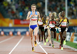 Scotland's Beth Potter competes in the Women's 10,000m Final at the Carrara Stadium during day five of the 2018 Commonwealth Games in the Gold Coast, Australia.