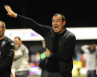 Football - 2021 / 2022 EFL Sky Bet League Two - Crawley Town vs Salford City - The People's Pension Stadium - Tuesday 17th August 2021<br /> <br /> Salford manager, Gary Bowyer<br /> <br /> Credit : COLORSPORT/Andrew Cowie