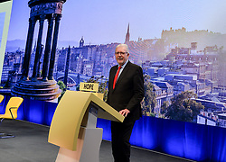 Pictured: Cabinet Secretary for Government Business and Constitutional Relations Mike Russell opened the conference.<br /> <br /> The SNP held their spring conference at the EICC in Edinburgh, where independence and brevet were high on the agenda.<br /> <br /> © Dave Johnston / EEm