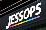 Sign for photographic equipment shop Jessops.