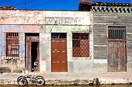 Houses in Cardenas, Matanzas, Cuba.
