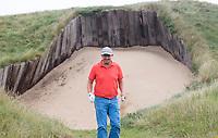 SANDWICH (GB) - Martijn Paehlig van GM. Bunker op hole 4.  The Royal St. George's Golf Club (1887), één van de oudste en meest beroemde golfclubs in Engeland. COPYRIGHT KOEN SUYK