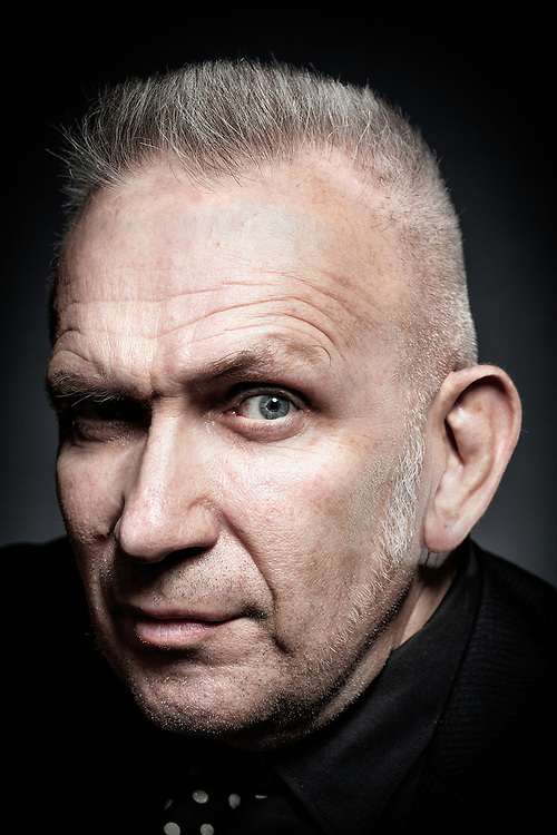 French designer Jean Paul Gaultier poses for a portrait  on June 3rd   2016.<br /><br />Photos Ki Price for The Times