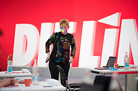 DEU, Deutschland, Germany, Berlin, 19.06.2021: Bundestagsvizepräsidentin Petra Pau beim Bundesparteitag der Partei DIE LINKE in den Reinbeckhallen.