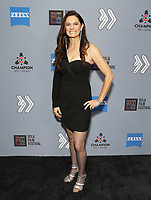 """Karolyne Sosa at DTLA Film Festival """"INSIDE GAME"""" Los Angeles Premiere held at Regal LA Live on October 24, 2019 in Los Angeles, California, United States (Photo by © Michael Tran/VipEventPhotography.com"""