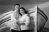 Kate Bushman and Rob Smith, photographed in St. Michaels, MD, for their engagement portrait on May 9, 2009. Photos were taken on the dock at the Inn at Perry Cabin and also on the grounds of the Chesapeake Bay Maritime Museum.