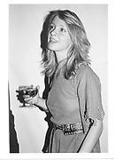Sabrina Guinness. Henry Pembroke party. London 1983. © Copyright Photograph by Dafydd Jones 66 Stockwell Park Rd. London SW9 0DA Tel 020 7733 0108 www.dafjones.com