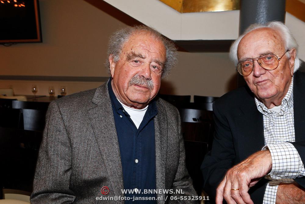 NLD/Amsterdam/20100910 - Paul van Vliet viert 75ste verjaardag met vrienden, Eli Asser en Leen Timp