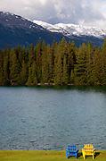 The Fairmont Park Lodge on Lake Beauvert