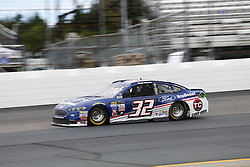 September 22, 2017 - Loudon, New Hampshire, United States of America - September 22, 2017 - Loudon, New Hampshire, USA: Matt DiBendetto (32) takes to the track to practice for the ISM Connect 300 at New Hampshire Motor Speedway in Loudon, New Hampshire. (Credit Image: © Justin R. Noe Asp Inc/ASP via ZUMA Wire)