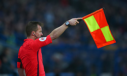 Linesman Marc Perry
