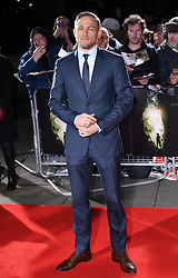 Charlie Hunnam arriving at the UK Premiere of Lost City of Z, The British Museim, London.