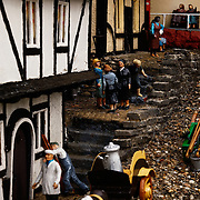 Images form the Beckonscot model Village in Beconsfield from the book Forever England