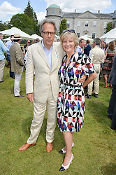 The EARL & COUNTESS OF MARCH at the Cartier hosted Style et Lux at The Goodwood Festival of Speed at Goodwood House, West Sussex on 29th June 2014.