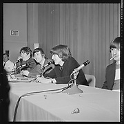 Y-650822A-07 Beatles at Memorial Coliseum press conference. August 22, 1965