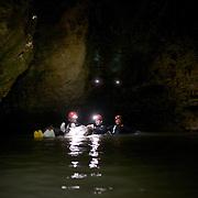 Blackwater rafting Waitomo caves