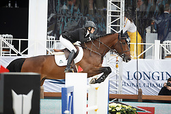 Foster Tiffany, (CAN), Cadalora P<br /> Global Champions Tour Antwerp 2016<br /> © Hippo Foto - Dirk Caremans<br /> 22/04/16