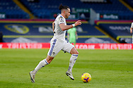 Leeds United midfielder Jack Harrison (22), on loan from Manchester City, in action during the Premier League match between Leeds United and Brighton and Hove Albion at Elland Road, Leeds, England on 16 January 2021.