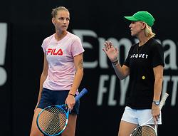 December 30, 2018 - Brisbane, AUSTRALIA - Karolina Pliskova of the Czech Republic practices at the 2019 Brisbane International WTA Premier tennis tournament (Credit Image: © AFP7 via ZUMA Wire)