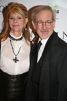 Steven Spielberg and Kate Capshaw at the Lincoln film premiere Savoy Cinema in Dublin, Ireland. Sunday 20th January 2013.