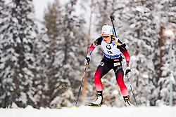 March 8, 2019 - –Stersund, Sweden - 190308 Tiril Eckhoff of Norway competes in the Women's 7.5 KM sprint during the IBU World Championships Biathlon on March 8, 2019 in Östersund..Photo: Petter Arvidson / BILDBYRÃ…N / kod PA / 92247 (Credit Image: © Petter Arvidson/Bildbyran via ZUMA Press)