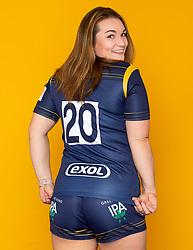 Jo Brown of Worcester Warriors Women Exol Sponsor - Mandatory by-line: Robbie Stephenson/JMP - 27/10/2020 - RUGBY - Sixways Stadium - Worcester, England - Worcester Warriors Women Headshots