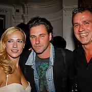 NLD/Amsterdam/20100901 - ACT gala 2010, Jeniffer Hoffman, Frederik Brom, en Chris Tates