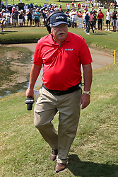 September 20, 2018 - Atlanta, Georgia, United States - NBC Sports golf analyst Roger Maltbie approaches the 15th green during the first round of the 2018 TOUR Championship. (Credit Image: © Debby Wong/ZUMA Wire)
