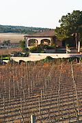 La Clape. Languedoc. Domaine Mas du Soleilla. The villa. The main building. The vineyard. France. Europe.