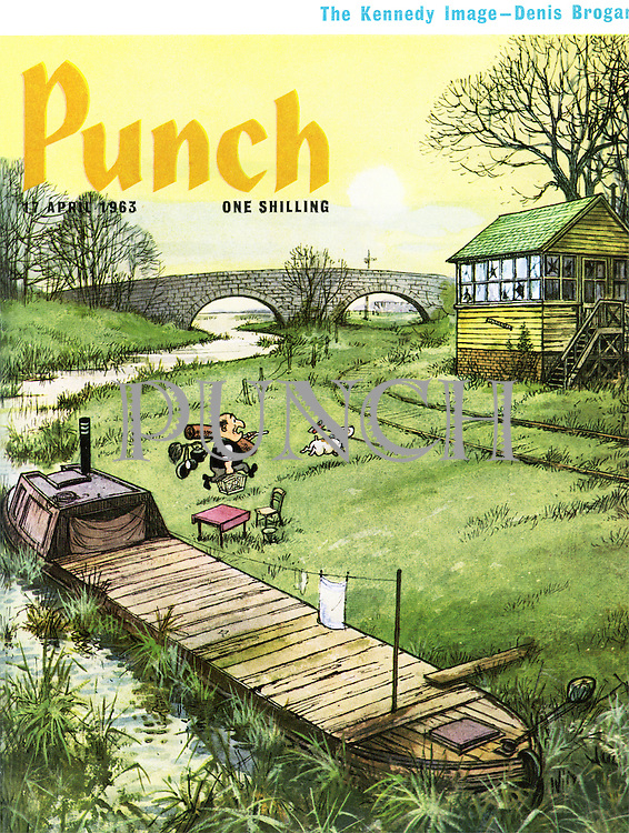 Punch (Front cover, 17 April 1963)