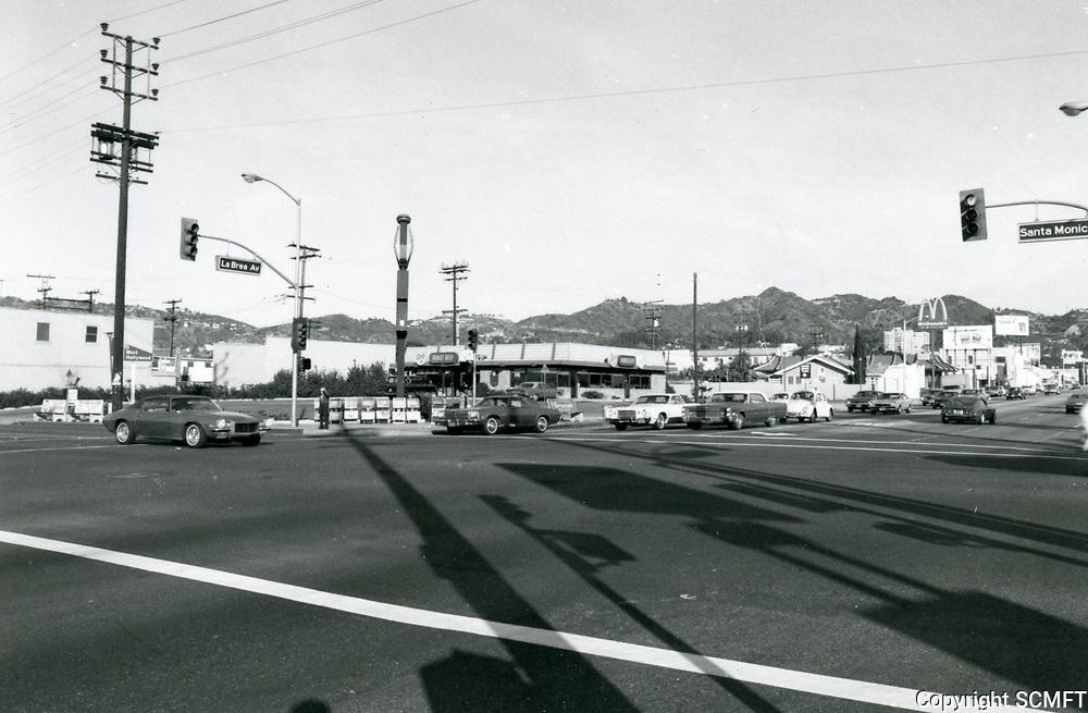 1976 NW corner of La Brea Ave. & Santa Monica Blvd