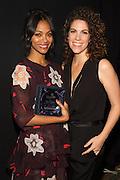 Zoe Saldana, and Jenni Luke, CEO, Step Up
