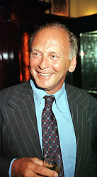 Restaurant owner MR BRIAN STEIN, at a party in <br /> London on 15th May 2000.   OEC 27