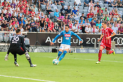 August 2, 2017 - Munich, Germany - Jose Callejon of SSC Napoli during the Audi Cup 2017 match between SSC Napoli v FC Bayern Muenchen at Allianz Arena on August 2, 2017 in Munich, Germany. (Credit Image: © Paolo Manzo/NurPhoto via ZUMA Press)