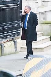 Downing Street, London, December 13th 2016. International Trade Secretary Liam Fox arrives at the weekly meeting of the cabinet at Downing Street, London.