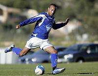 Fotball<br /> La Manga - Spania<br /> 24.03.2008<br /> Hødd v Nybergsund 1-1<br /> Foto: Morten Olsen, Digitalsport<br /> <br /> Kyle Veris - Hødd