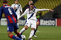 """Giampaolo Pazzini Inter<br /> Mosca 27/9/2011 Stadio """"Luzhniki""""<br /> Football / Calcio Champions League 2011/2012<br /> CSKA Moscow vs Inter<br /> Foto Paolo Nucci Insidefoto"""