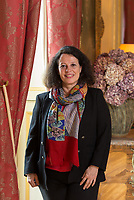 Ms Sylvie-Agnès Bermann, France Ambassador photographed at the Residence in Kensington, London on February 24th 2017. Ms Bermann is now France ambassador in Moscow in the Russian Federation.