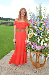 OLIVIA INGE at The Royal Salute Coronation Cup Polo held at Guards Polo Club,  Smiths Lawn, Windsor Great Park, Egham on 23rd July 2016.