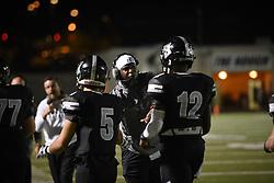 20171006 Hough High School football v. Lake Norman High School.<br /> © Laura Mueller<br /> www.lauramuellerphotography.com